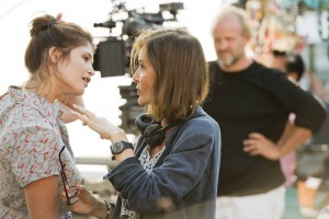 Gemma Arterton and director Anne Fontaine Photo Courtesy of Music Box Films
