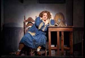 Lynn Andrews as Miss Hannigan Photo By Joan Marcus