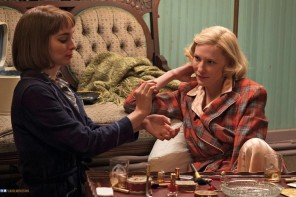 Rooney Mara and Cate Blanchett play two starcrossed lovers in Carol