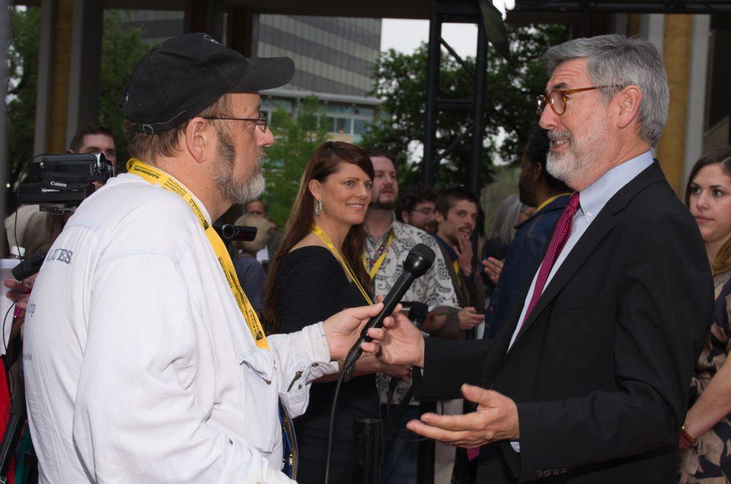 Gary Murray interviews John Landis (Director, Screenwriter), DFS Star Award Recipient