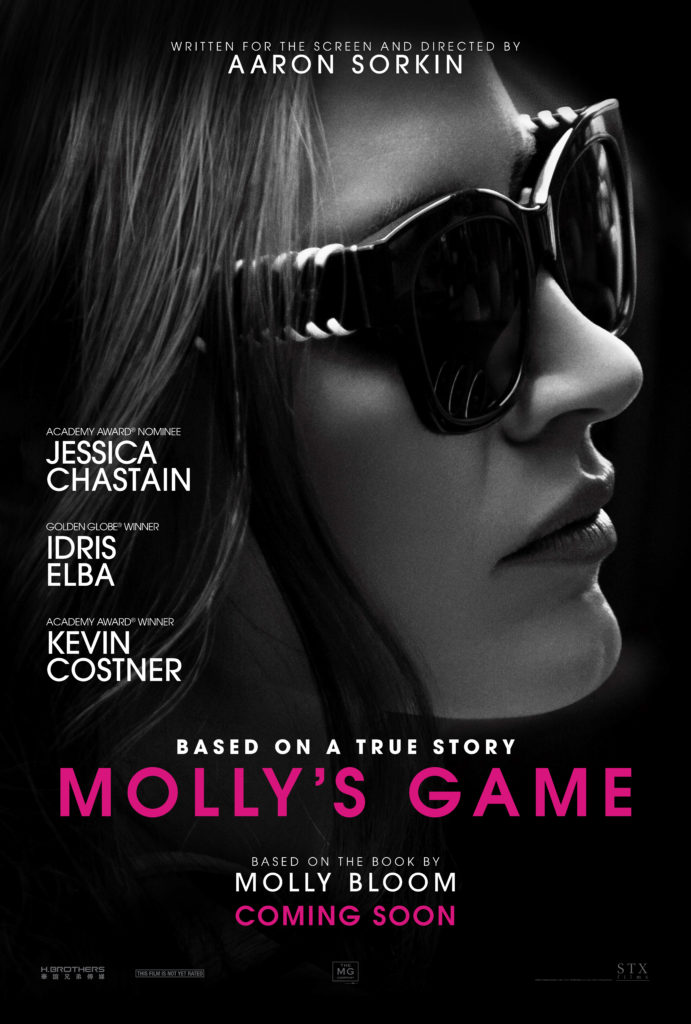 MOLLY'S GAME – A Review by John Strange